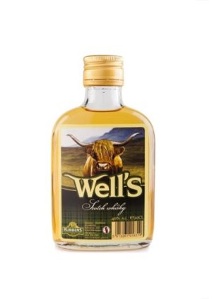 Wells Whisky 40% - 20cl