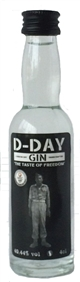 D-day gin 40,44% - 4 cl