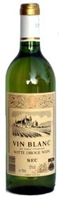 Vin Blanc Sec 12% - 75cl