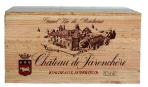 Caisse 6Btlls Chateau Parenchere X6 2010 12% - 75cl