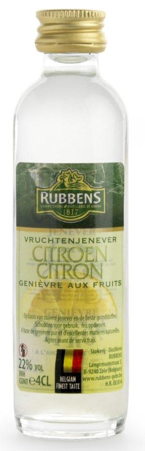 Genièvre Au Citron 22% - 4cl
