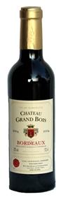 3/8 Grand Bois Rouge Bordeaux 2016 - 37cl