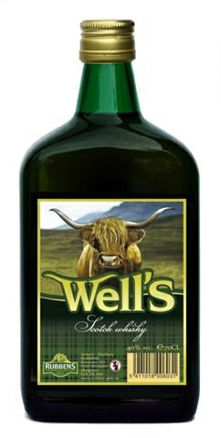 Wells Whisky 40% - 70cl