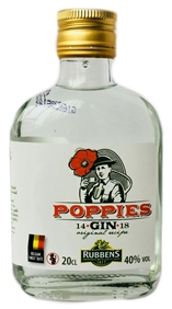 1/5 Poppies Dry Gin 40% - 20cl