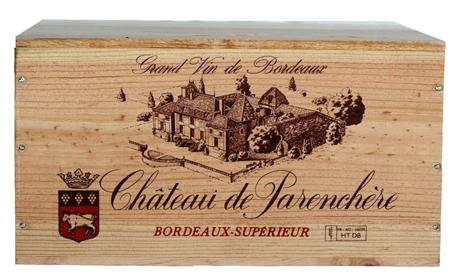 Kist 6Fl Chateau Parenchere X6 2010 12% - 75cl