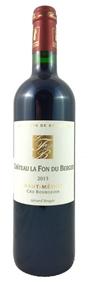 Chat. La Fon Du Berger Haut Medoc 2012 Cru Bourgeois - 75cl