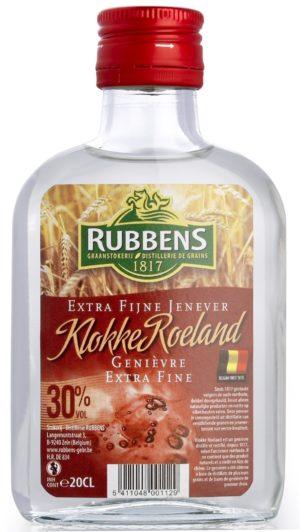 1/5 Klokke Roeland Jenever 30% - 20cl