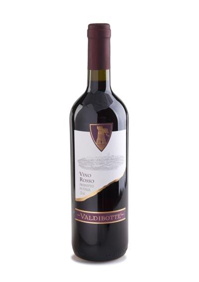 Valdibotte Rode Wijn - 75cl