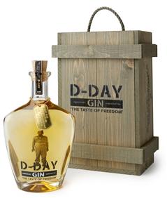 D-day gin GOLD 40,44% - 70 cl en caisse