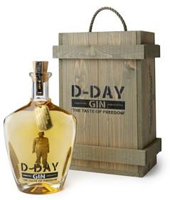 D-day gin GOLD 40,44% - 70 cl in kist